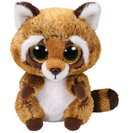 TY Beanie Boos - Rusty the Raccoon (Glitter Eyes) Small 6