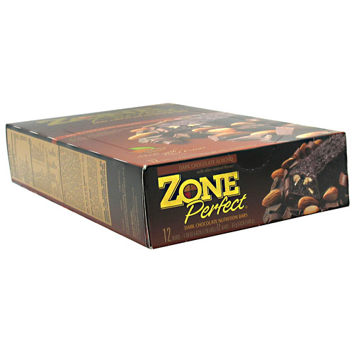 ZonePerfect Nutrition Bars, Dark Chocolate Almond, 1.58 oz, 12 Count