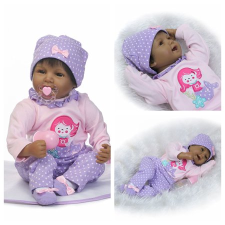 UBesGoo Reborn Baby Doll Real Life Soft Silicone 22