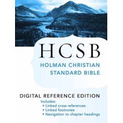 The Holy Bible: HCSB Digital Reference Edition - eBook