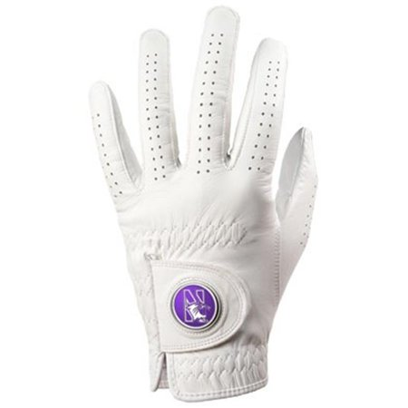 LinksWalker LW-CO3-NOW-GLOVE-M Northwestern Wildcats-Golf Glove - Medium - image 1 of 1
