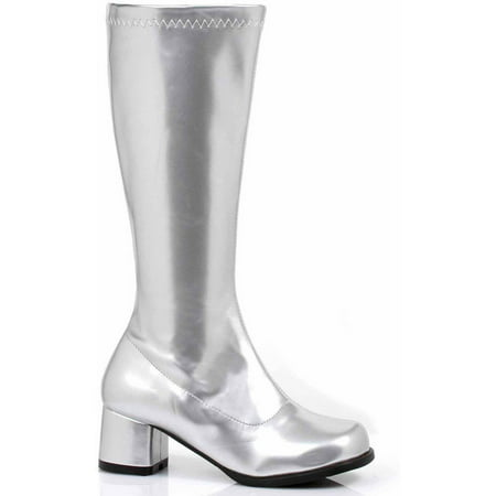Dora Silver Boots Girls