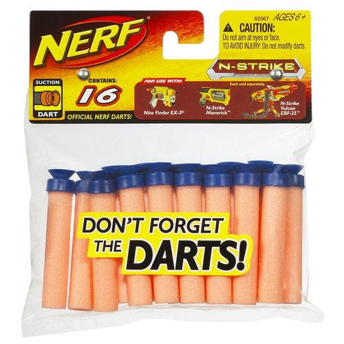 NERF Suction Darts, 16pk