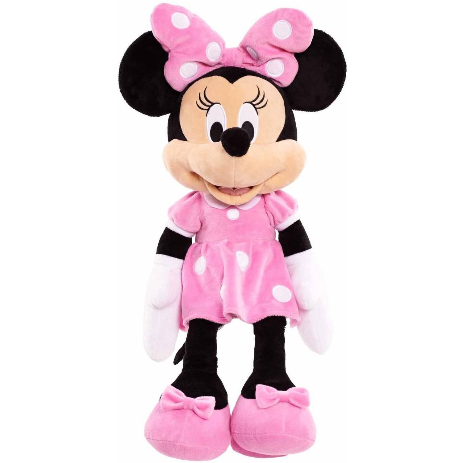 Disney Classic Large Plush, Minnie in Pink