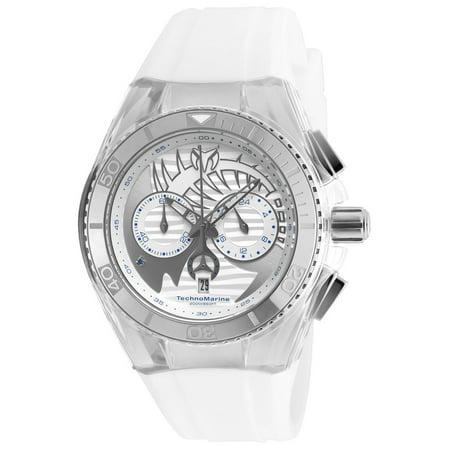 Technomarine Unisex TM-115005 Cruise Dream Quartz Chronograph Antique Silver Dial Watch