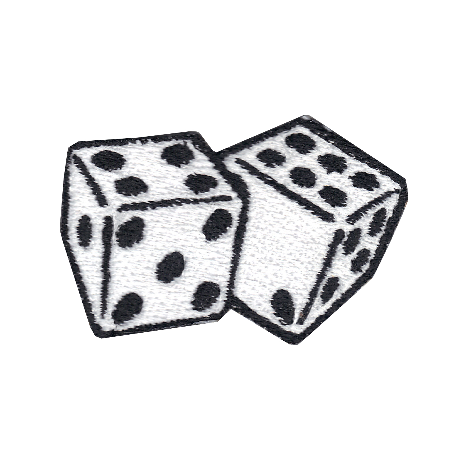 Dice Iron On Applique Patch