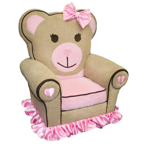 Harmony Kids Ballerina Bear Icon Chair