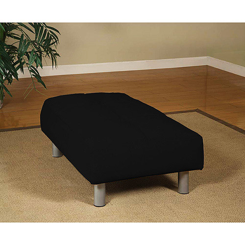 Atherton Home Manhattan Ottoman, Black