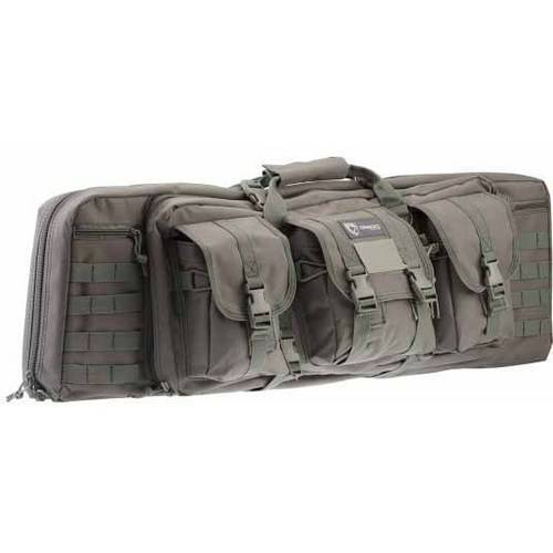 "GEAR 36"" DOUBLE GUN CASE BLK"