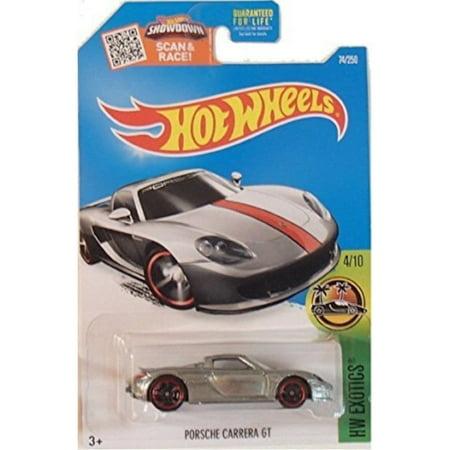 hot wheels, 2016 hw exotics, porsche carrera gt exclusive zamac #74/250