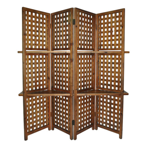 Cheungs 70.25'' x 70.25'' 4 Panel Room Divider