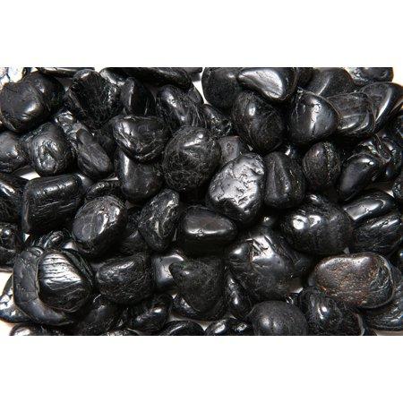 Fantasia Crystal Vault: 1/2 lb High Grade Black Tourmaline Tumbled Stones - XLarge - 1.5