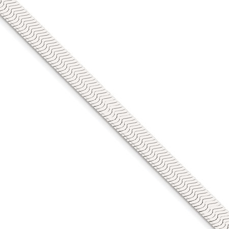 925 Sterling Silver 8mm Magic Link Herringbone Bracelet Chain 7 Inch Gifts For Women For Her