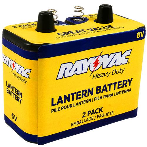 Rayovac Heavy Duty 6V Battery, 2-Pack