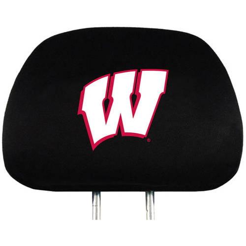 NCAA Wisconsin University Badgers Headrest Cover