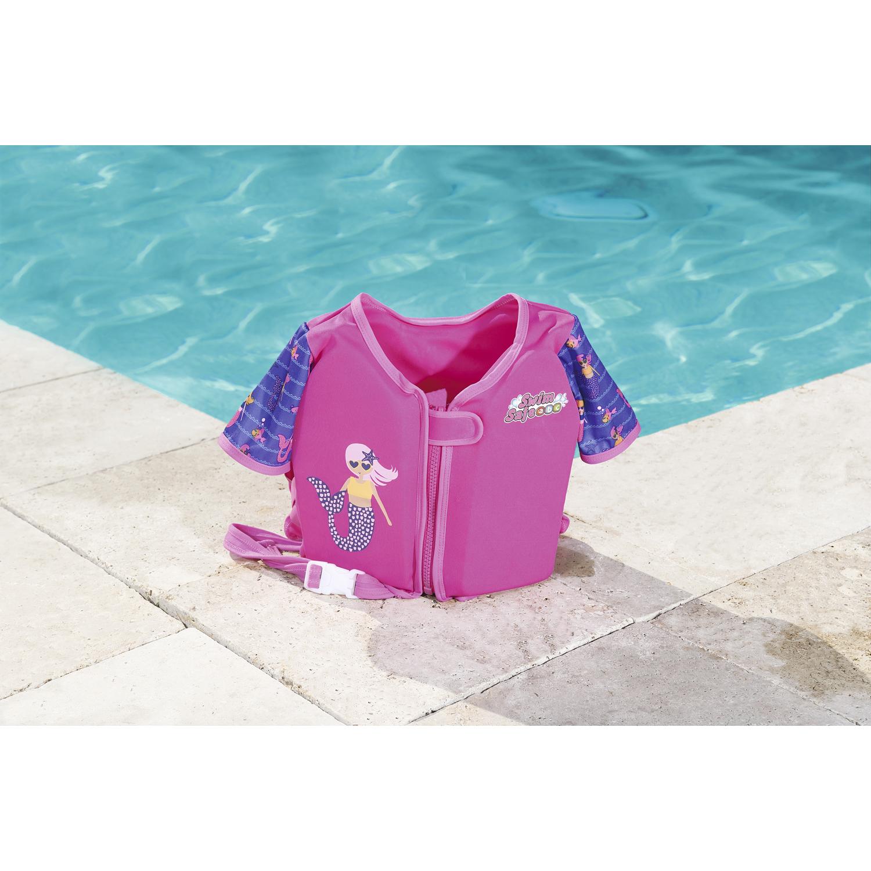 Swim Safe Swim Vest w/ Sleeves - Blue