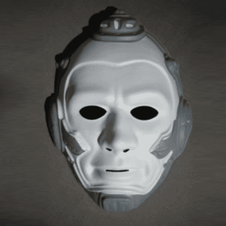Mr. Freeze PVC Mask Batman And Robin Movie Arnold Schwarzenegger Costume (Batman And Robin Masks)