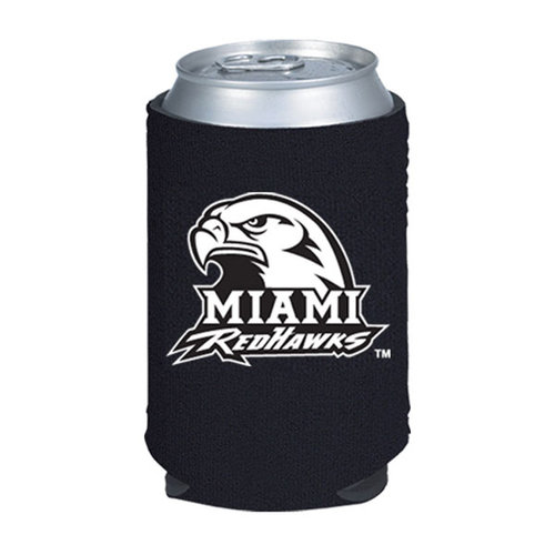 NCAA - Miami University Redhawks Collapsible Can Koozie