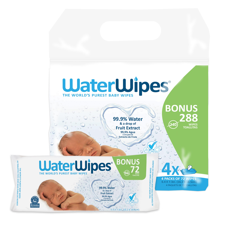Waterwipes 288ct Wipe