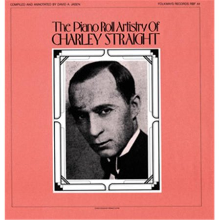 Smithsonian Folkways FW-RF044-CCD Piano Roll Artistry of Charley Straight
