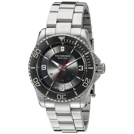 Swiss Army Maverick Mechanical Grey Dial Ladies Watch 241708
