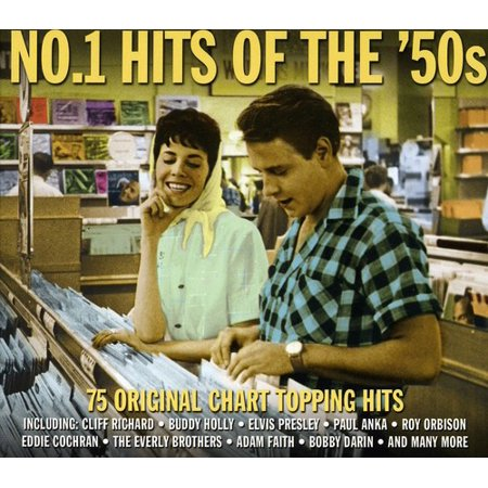No.1 Hits Of The 50's (CD)