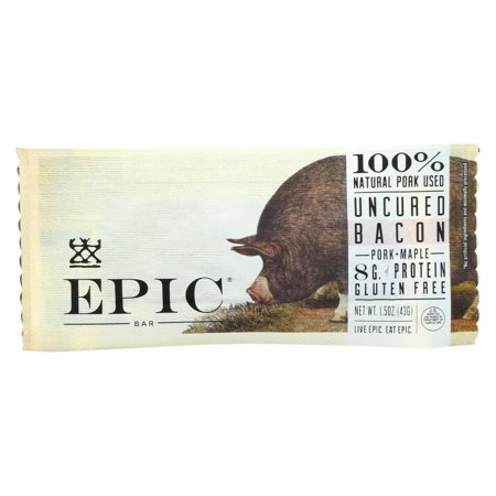 Maple Bacon Cake (Epic Bar - Pork - Maple - Uncured Bacon - Case Of 12 - 1.5)
