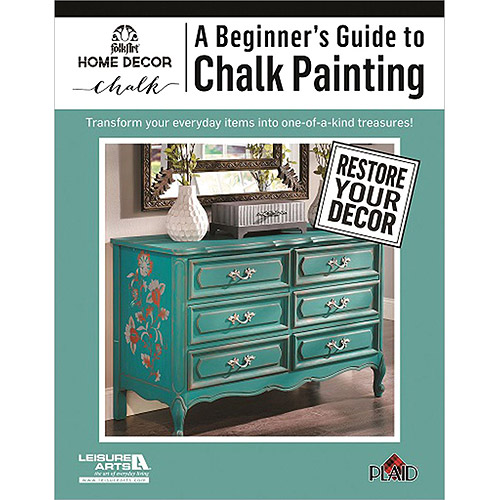 Leisure Arts A Beginner's Guide To Chalk Painting