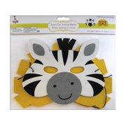 Multicraft Foam-Fun Animal Mask Astd Safari Fun