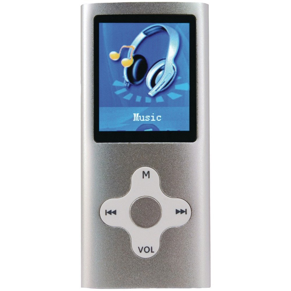 _180 SL 4GB 4 GB PORTABLE MEDIA PLAYER WITH 1.8 DISPLAY _SILVER_