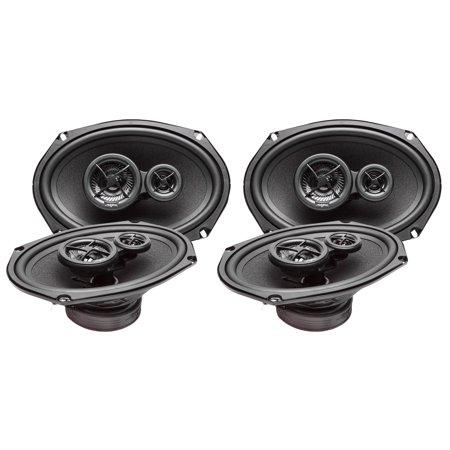 Mazda Speaker (2006-2011 Mazda Mazda5 Complete Premium Factory Replacement Speaker Package by Skar Audio )