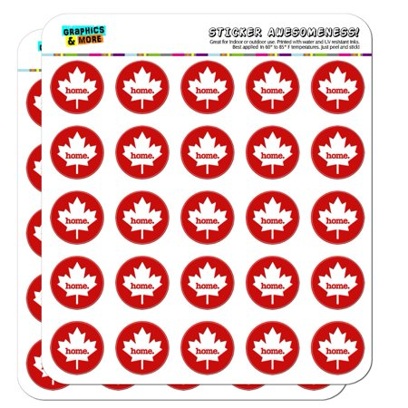 Canada Maple Leaf Home Country Solid Red Officially Licensed 1