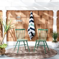 Chester Outdoor Side Chairs Green