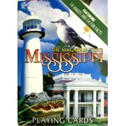 Mississippi Souvenir Playing Cards