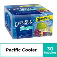 Capri Sun Pacific Cooler Mixed Fruit Flavored Juice Drink Blend, 30 ct. Box