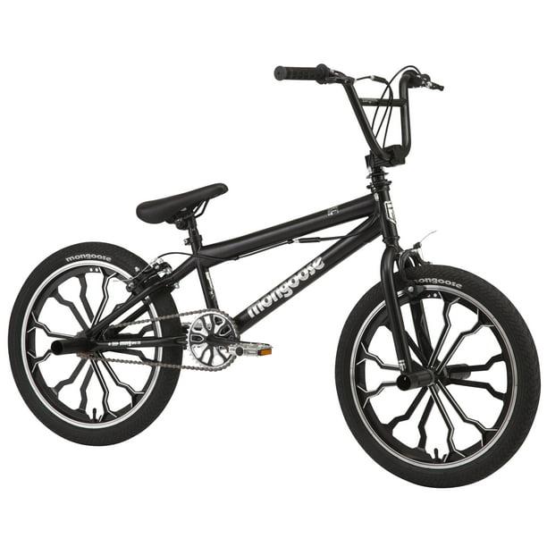 Mongoose Rebel Kids Bmx Bike 20 Inch Mag Wheels Ages 7 13 Black Walmart Com Walmart Com