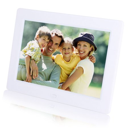 FAGINEY 8Inch 1280*800 Digital Photo Picture Frame Alarm Clock Player Album Remote Control IPS Screen, 8Inch Photo Frame, Photo Alarm Clock - image 6 of 8