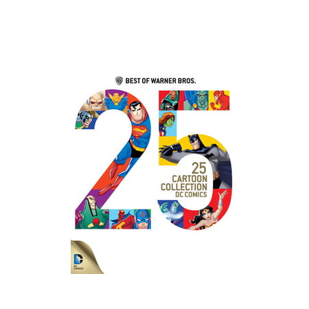 Best of Warner Bros.: 25 Cartoon Collection DC Comics (Top 100 Best Cartoons)