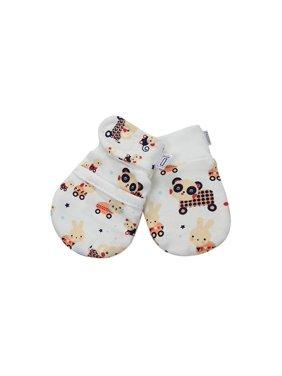 Darlyng & Co.'s Anti-Scratch Newborn Baby Mittens (0-6 months) 1 pair (Space Beige)