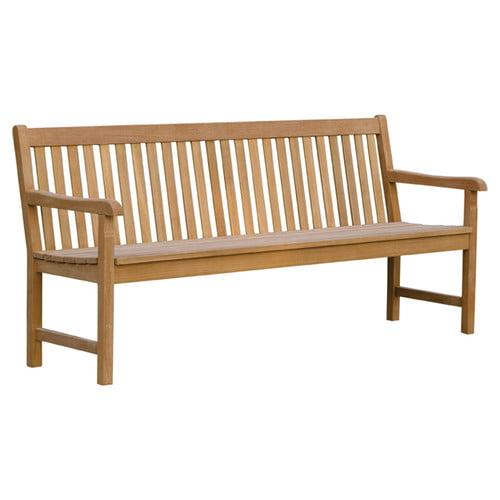 Oxford Garden Classic Wood Garden Bench by Oxford Garden
