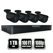 Night Owl 8 Channel HD Video Security DVR w/1 TB HDD and 4/1080p HD Wired Bullet Cameras