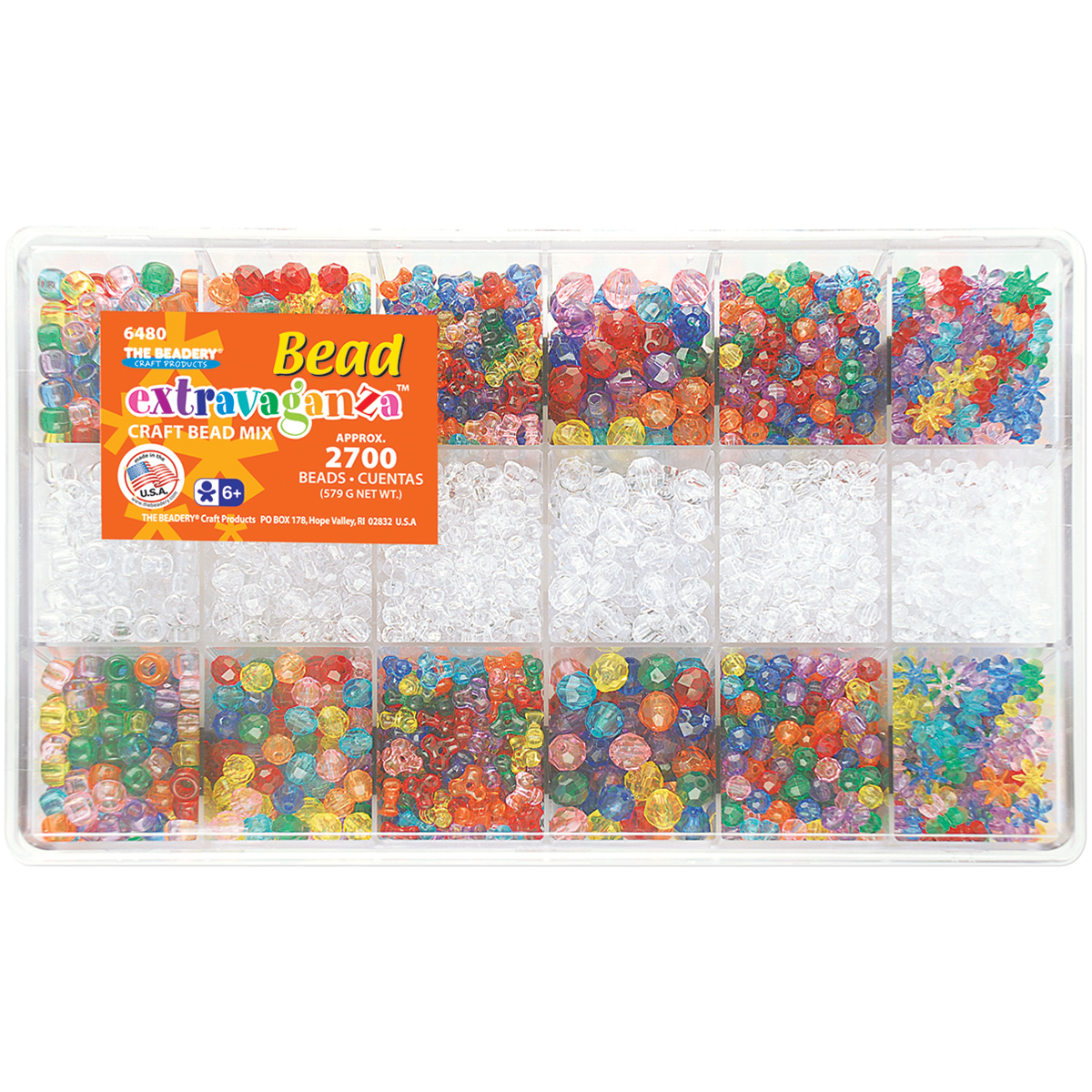 The Beadery Craft Products All Sparkle Giant Bead Box