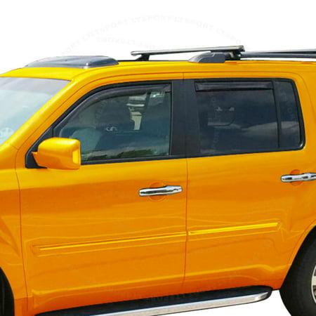 Fit 06-11 Chevrolet HHR window visor shade vent wind rain deflector For 06 07 08 09 10 11 2006 2007 2008 2009 2010 (Fox Visor)