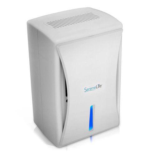 Serene-Life Compact Electronic Dehumidifier, Digital Mini Moisture Control