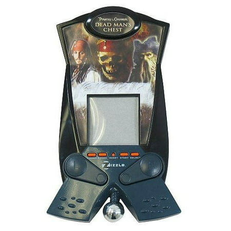 Pirates of the Caribbean Dead Man's Chest Pinball Electronic Handheld