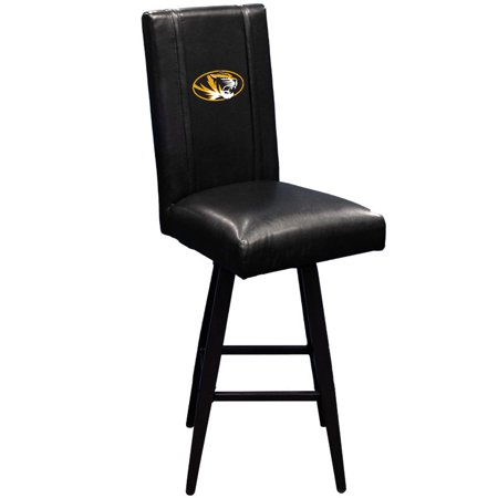Missouri Tigers Collegiate Bar Stool Swivel 2000 (Missouri Black Leather)