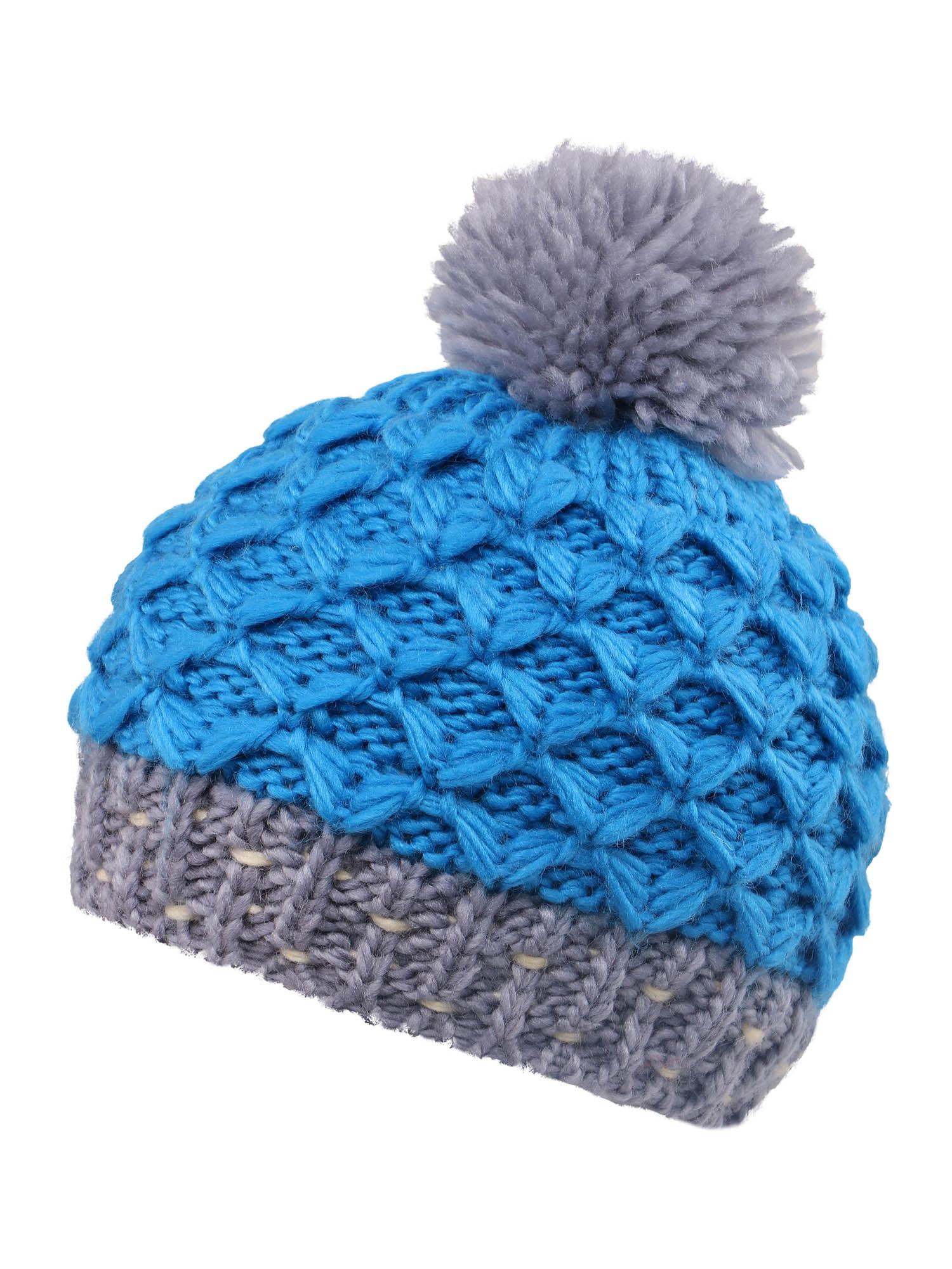 df3496e9fce BASILICA - Striped Knit Beanie with Yarn Pompom By Arctic Paw