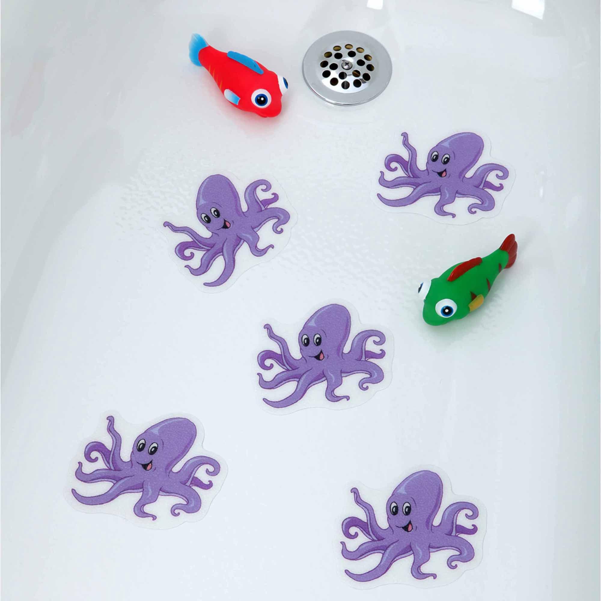 SlipX Solutions Octopus Tub Tattoos
