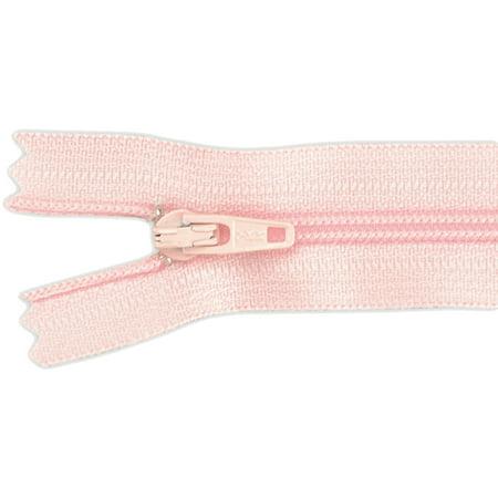 Ziplon Coil Zipper 22 Pink Multi Colored
