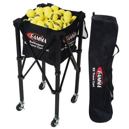 - GAMMA Tennis EZ Travel Cart 150 Ball Hopper